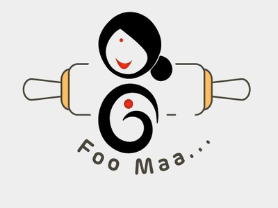 Food Maa branding illustration vector ui logo design motion mark food app