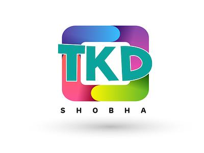TKD Shobha Logo using Illustrator logo 3d animation web ux ui vector typography design logo illustration artboard studio mockup marketing app presentation packaging branding