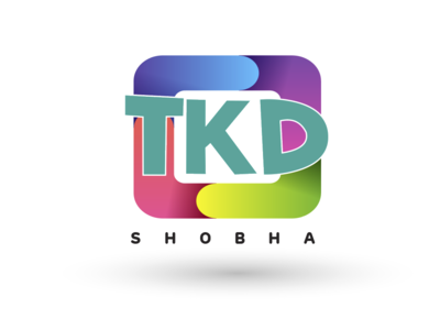 TKD Shobha Logo using Illustrator logo 3d animation web ux ui vector typography design logo illustration artboard studio mockup marketing app presentation packaging branding