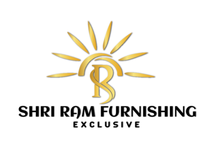 SHRI RAM FURNISHING EXCLUSIVE LOGO design logo illustration artboard app studio mockup marketing presentation packaging branding