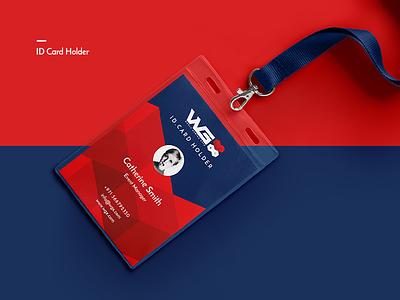 WGX ID Card Holder wgx logo x logo joystick logo icon design id card holder branding logo game logo gaming id card design expo logo video games
