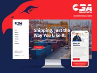 3A Solutions Website Design Mockup