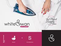 White Swan Logo Design