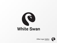 White Swan Logo Option
