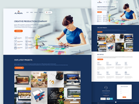 Almeka Landing Page