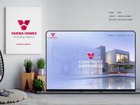 Varma Homes Website Project
