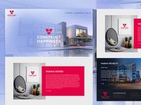 Varma Homes Website Design
