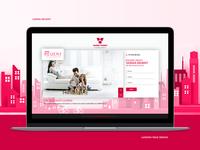Varma Homes Landing Page Design