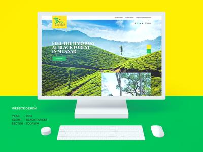 Munnar Black Forest Website Project