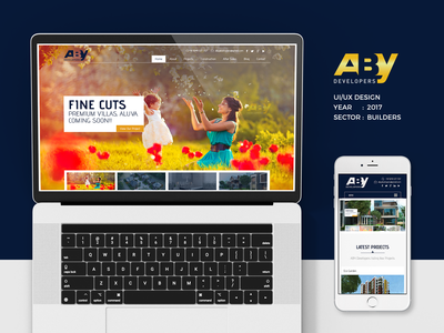 Aby Developers Website Project
