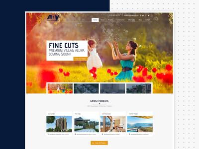 Aby Developers Website Design