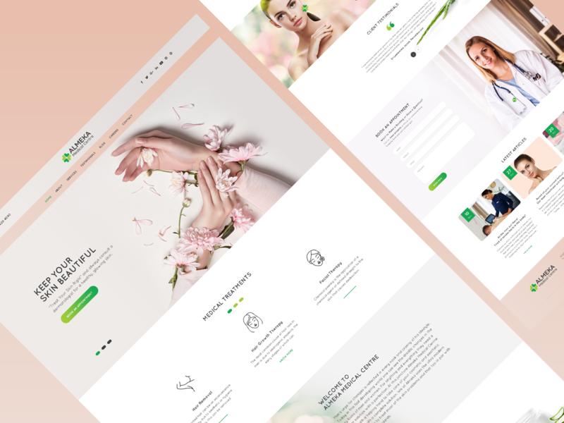 Amc Website Design