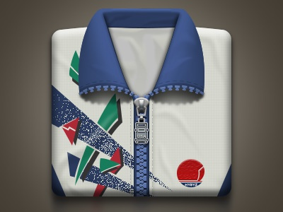 The middle school uniform 10 years ago icon cloth clothes uniform zipper