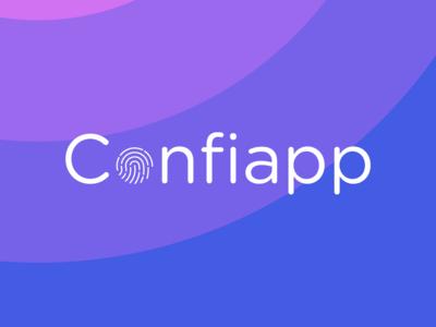 Confiapp Logo app icon typography ui branding logo