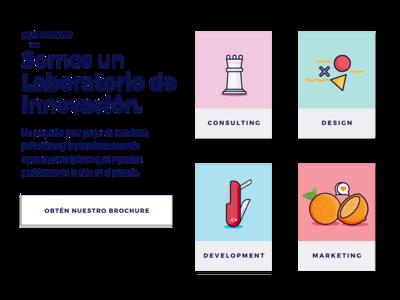 Codesign Services flat developement marketing consulting design app design