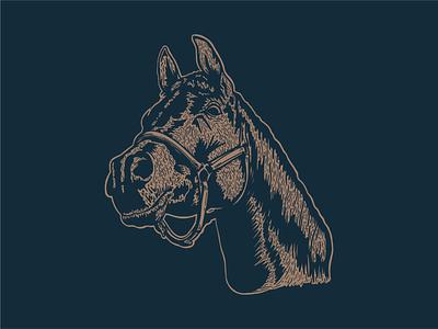 Dennis Axe midwest western horse head horse logo badge logo branding badge design badge axes axe ax
