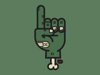 Zombie Hand (6 of 7)