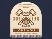 CHOPS Beard Balm - Lone Wolf