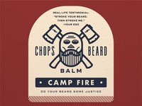 CHOPS Beard Balm - Camp Fire
