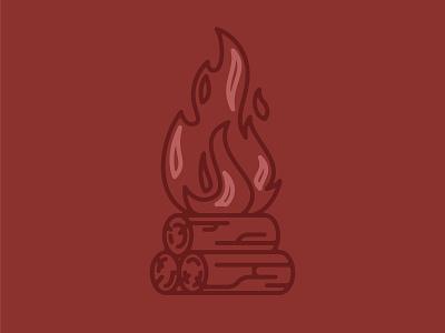 CHOPS Beard Balm - Camp Fire Icon icon beard balm beard camp fire fire