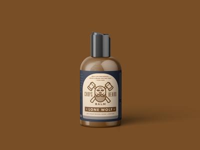 CHOPS Beard Balm - Lone Wolf Bottle