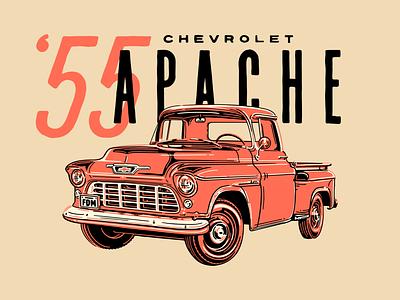 Chevy Apache old truck apache vintage truck vintage retro truck chevrolet
