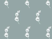 Botanical Pattern - Greenery Print