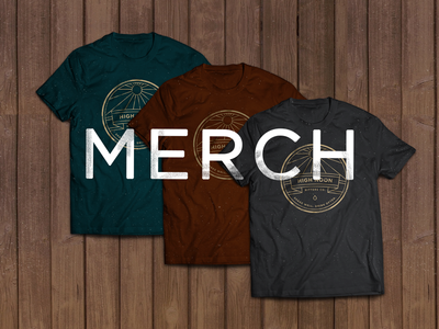 High Noon Merch high noon merch shirts web branding design