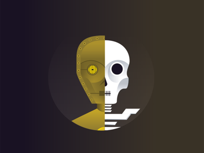 C3P0 vector illustration stars wars