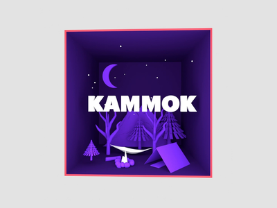 IWDR Podcast - Kammok 3d 3d design motion design kammok camping redshift c4d experiential design design animation