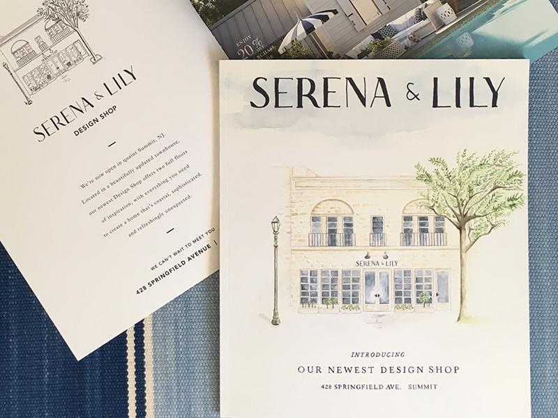 Serena Lily Summit Nj Catalog Wrap By Maya Rowland Dribbble