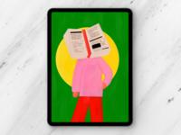 Editorial Illustration: Transparent