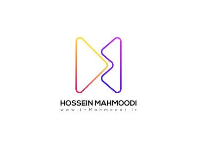 Hossein Mahmoodi's Logo brand iran حسین محمودی لوگو visual identity rebrand brand identity brand design icon branding vector illustration ihmahmoodi hossein mahmoodi logo