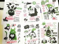 illustrations for potpot cuisine