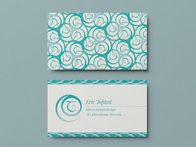 Self Identity – Business card typography business card logo branding