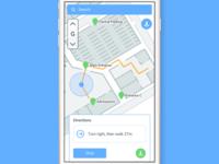 Offline Indoor Wayfinding Mobile App