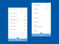 Dashboard & User Profile - Medical Adherence App