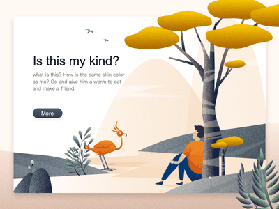 Is This My Kind illustration tree bird