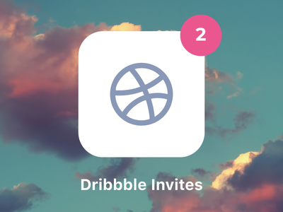 Dribbble Invites for new players.