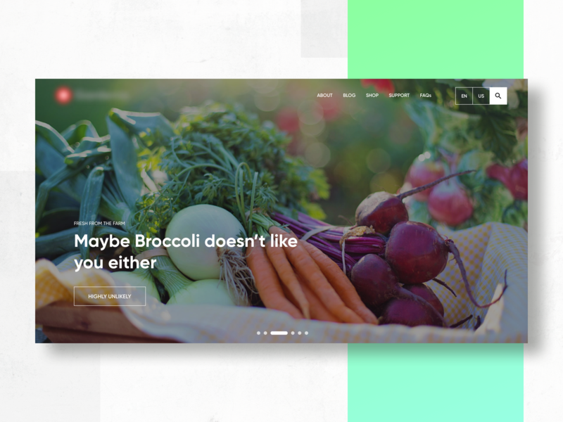 Healthy Living Content Website by Rajat Mehra on Dribbble