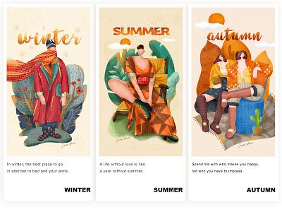 season design branding ui illustration