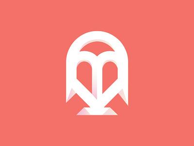 KDB  Logo brand vector illustration gradiant artwork rodiguez kdb logo coral