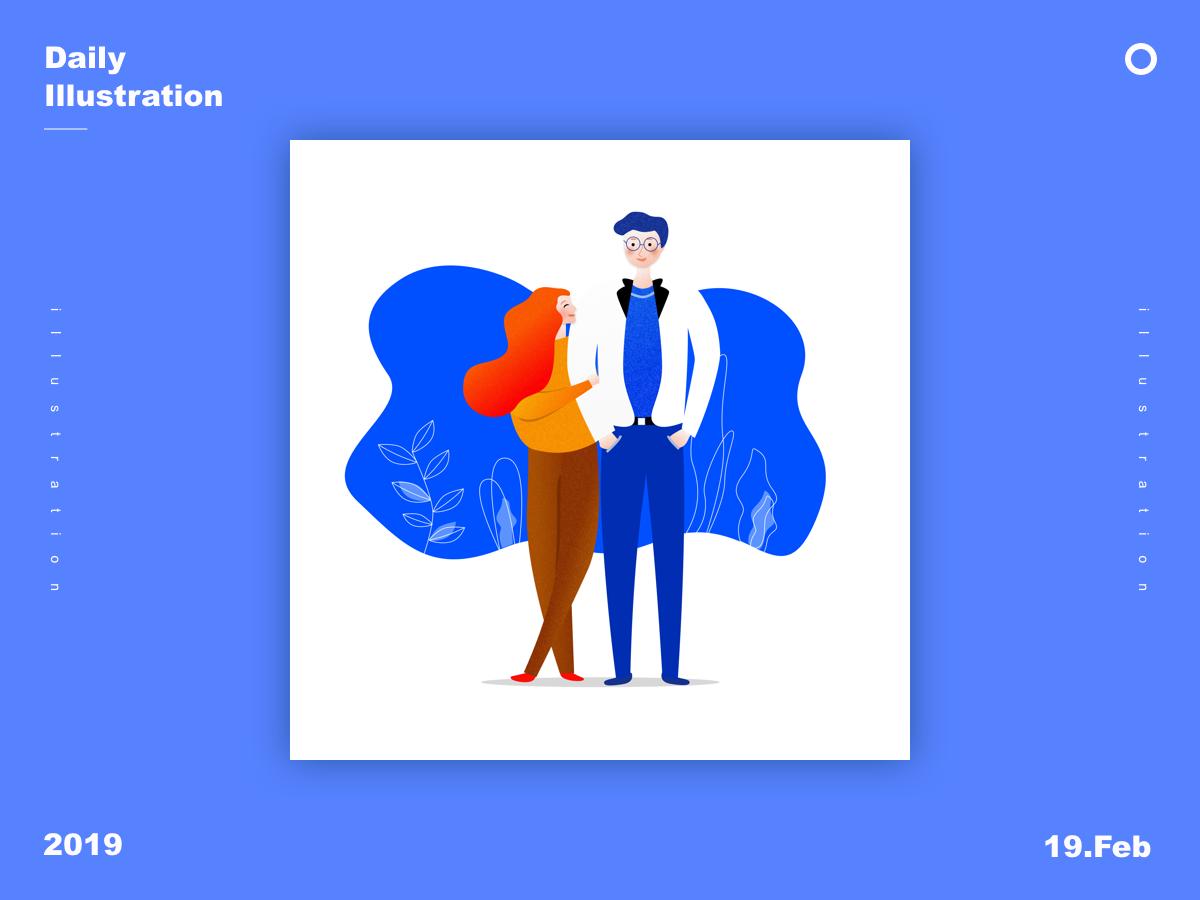 Daily Illustration Practice app ui design illuatration