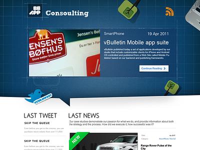 consulting site website