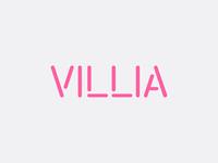Villia logotype