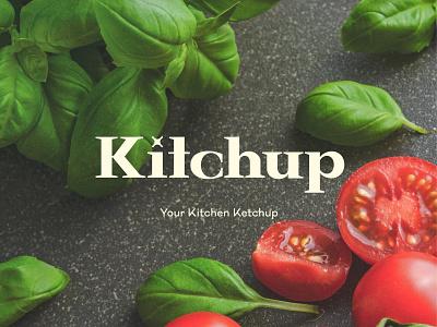 Kitchup vector type type design logoinspiration typography design graphic logo branding brand identity graphic design
