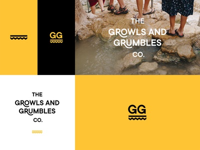 The Growls and Grumbles Co. brand identity