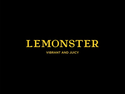 Lemonster logotype