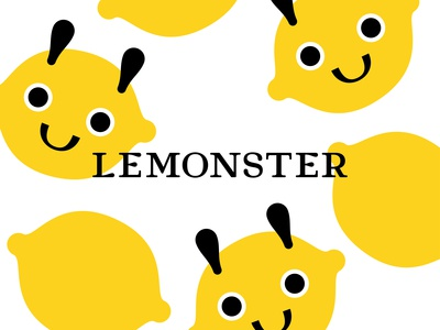 Lemonster visual identity