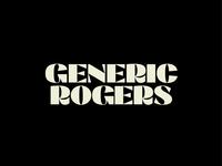 Generic Rogers